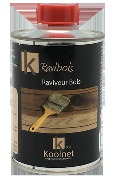 K Ravibois renovateur bois Fonctionne sur bois ciré