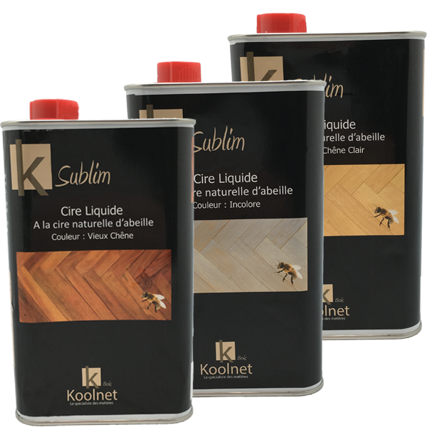 K Sublime Cire liquide pour bois