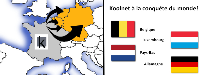 Koolnet exporte en belgique, allemagne,luxembourg et pays-bas