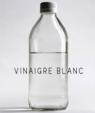 Vinaigre Blanc nettoyage vêtement détachant textile